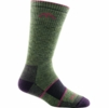 Darn Tough Womens Hiker Boot Sock Full Cushion Moss Heather