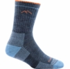 Darn Tough Womens Hiker Micro Crew Sock Denim