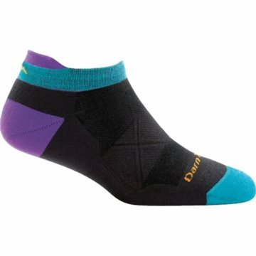 Darn Tough Womens Vertex No Show Tab UL Coolmax Black (Close Out)