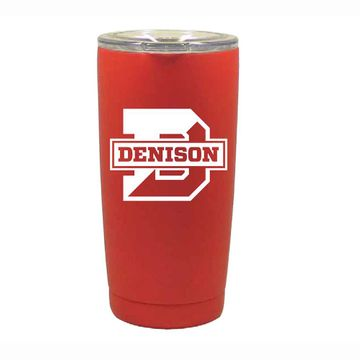 Denison 20oz Vacuum Insulated Red Stainless Tumbler
