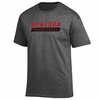 Denison Champion Basketball Tee Shirt Granite Heather