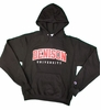 Denison Champion Powerblend Fleece Hoodie Black