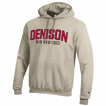 Denison Champion Powerblend Fleece Hoodie Oatmeal