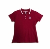Denison Garb Girls Polo Red