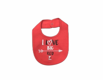 Denison Garb Infant Bib Red