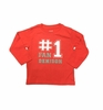 Denison Garb Lane Toddler Long Sleeve Tee Red
