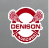 Denison Lacrosse Fridge Magnet