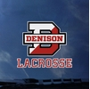 Denison Lacrosse Over D Decal