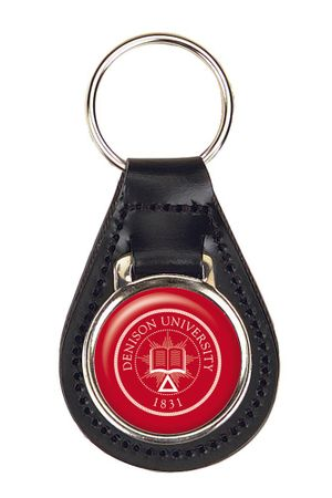 Denison Leather Key Fob