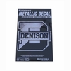 Denison Metallic Decal