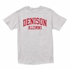 Denison MV Alumni Retro Heathered Tee Marbled