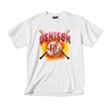 Denison MV Baseball Watercolor T-Shirt White