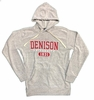 Denison MV Lucas Loop Fleece Woolie Hood Gray