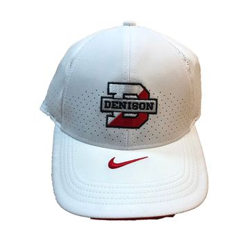 Denison Nike Athletic Adjustable Flex Hat White