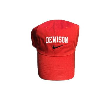 Denison Nike Campus Hat University Red