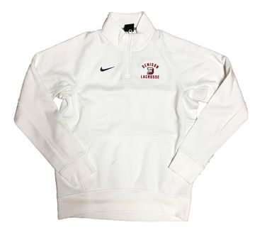 Denison Nike Lacrosse Club 1/2 Zip White
