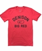 Denison Nike Legend Short Sleeve Big Red Tee Red