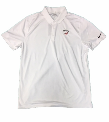 Denison Nike New Victory Solid Polo White