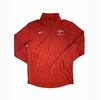 Denison Nike Football Pacer 1/4 Zip Red