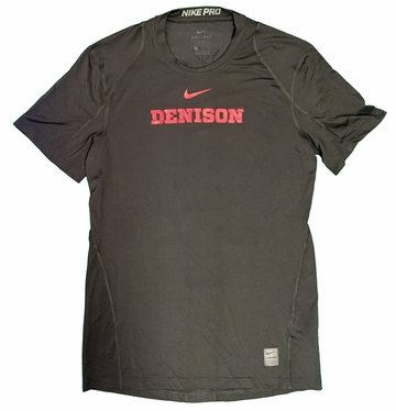Denison Nike Pro Coolfit SS Tee Anthracite
