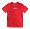 Denison Nike Sideline Coach Short Sleeve Top Red
