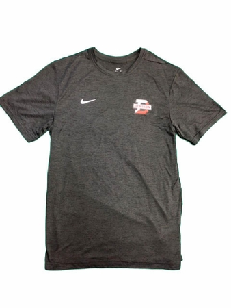 Denison Nike SL Coach Short Sleeve Tee Anthracite