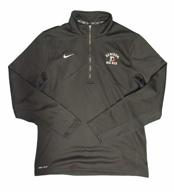 Denison Nike Training 1/2 Zip Black