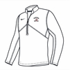 Denison Nike Training 1/2 Zip White