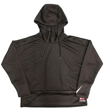 Denison Nike Womens Double Fleece Pullover Hoody Black