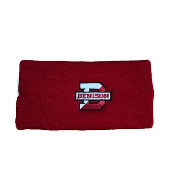 Denison Polar Knit Earband Red