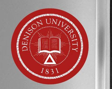 Denison Red Seal Fridge Magnet