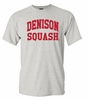 Denison Retro Heathered Tee Squash Marble Grey