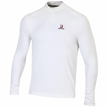 Denison Under Armour Coldgear Mock White