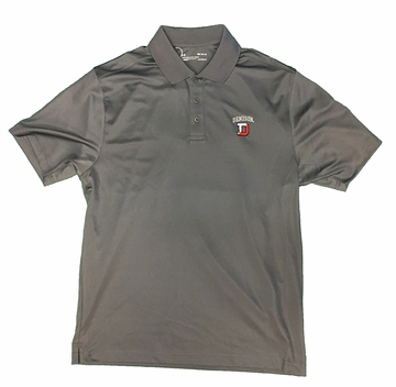 Denison Under Armour Performance Polo Graphite