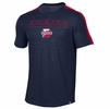 Denison Under Armour SMU Training Camp Short Sleeve Tee Midnight Navy/ Red