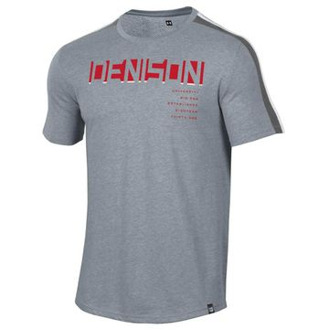 Denison Under Armour SMU Training Camp Short Sleeve Tee Steel Heather