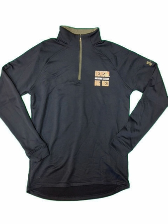 Denison Under Armour Tech Terry 1/4 Zip Midnight Navy