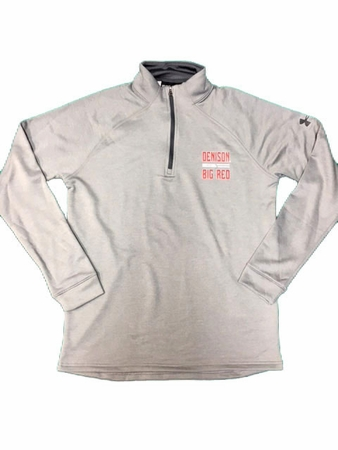 Denison Under Armour Tech Terry 1/4 Zip True Gray Heather