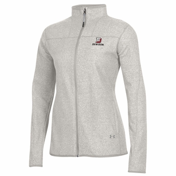 Denison Under Armour Womens Survivor Fleece Jacket Ghost Gray