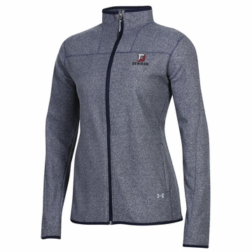 Denison Under Armour Womens Survivor Fleece Jacket Midnight Navy