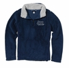 Denison Womens MV Addison Sherpa 1/4 Zip Deep Blue