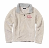 Denison Womens MV Addison Sherpa 1/4 Zip Ivory