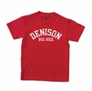 Denison Youth MV Classic Big Red Tee Red