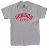 Denison Youth MV Classic Tee Big Red Gray
