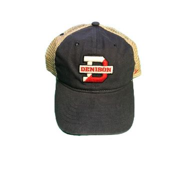 Denison Zephyr Trucker Hat Navy/ Khaki