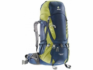 Deuter Aircontact 55+ 10 Midnight Moss