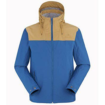 Eider Mens Chiloe Jacket Alpine Blue/ Cuban Sand
