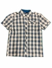 Eider Mens Dartmoor Shirt 2.0 Wide Blue/ Rock Bun