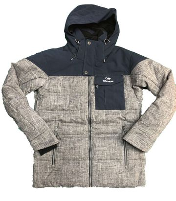 Eider Mens Shibuya Jacket Lunar Grey/Night Shadow