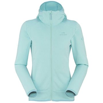 Eider Womens Smooth Hoodie 2 Blue Bay